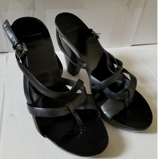 Givenchy Black Sandals Image 8