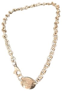 Tiffany & Co. Sterling silver return to Tiffany & Co. New York chain necklace