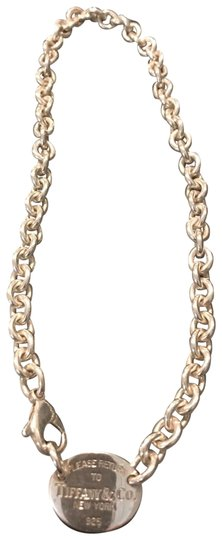 Tiffany & Co. Sterling silver return to Tiffany & Co. New York chain necklace Image 1