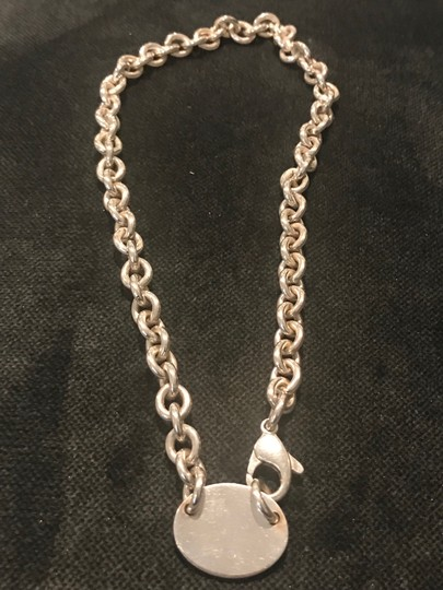 Tiffany & Co. Sterling silver return to Tiffany & Co. New York chain necklace Image 2