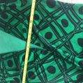 Diane von Furstenberg short dress Black and green Dvf Wrap Wrapdress Vintage on Tradesy Image 8