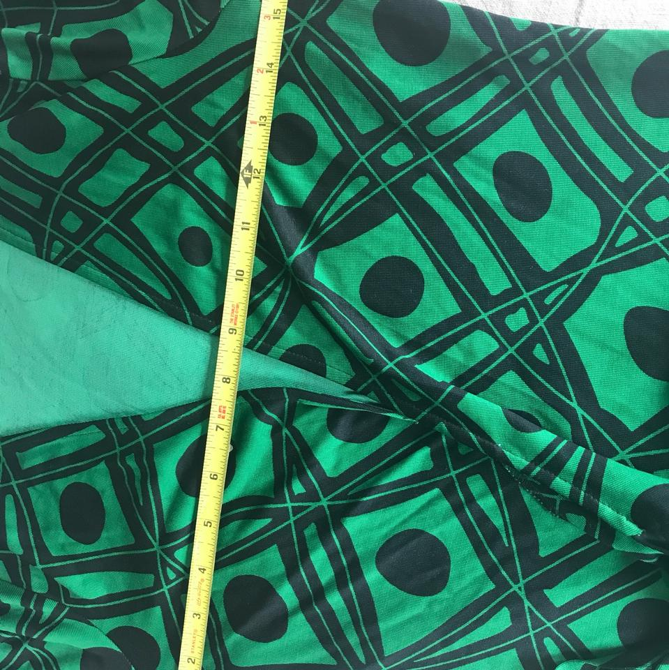 4e7dbddf147 ... dress Black and green Dvf Wrap Wrapdress Vintage on Tradesy Image 10.  1234567891011