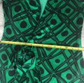Diane von Furstenberg short dress Black and green Dvf Wrap Wrapdress Vintage on Tradesy Image 9