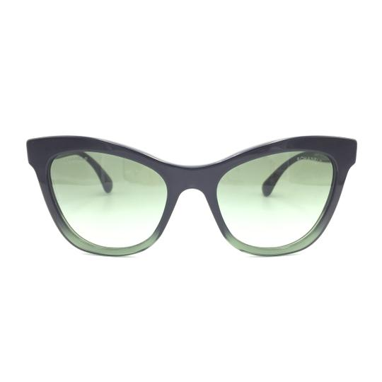 Preload https://img-static.tradesy.com/item/23627134/chanel-black-green-cat-eye-gradient-5350-1558s2-sunglasses-0-0-540-540.jpg