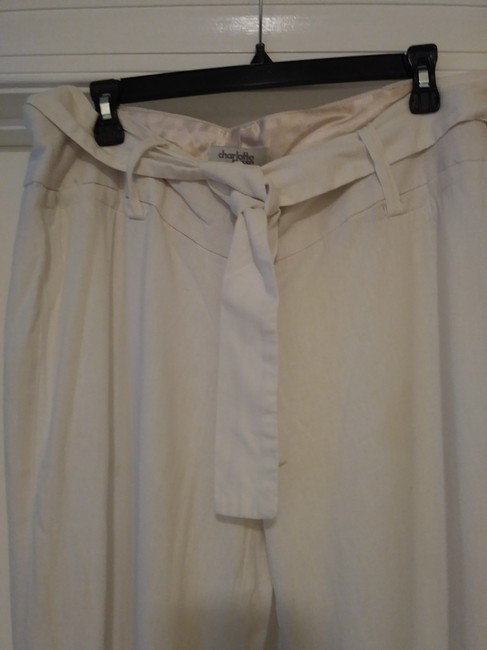 Charlotte Russe Trouser Pants White Image 2