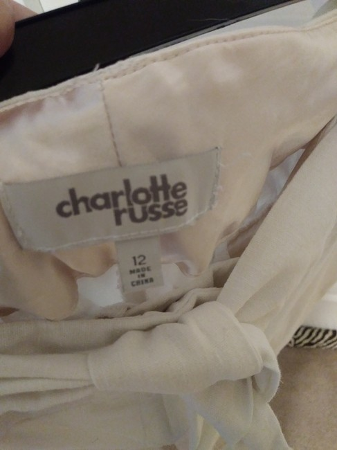 Charlotte Russe Trouser Pants White Image 3
