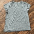 Lucky Brand T Shirt Gray with Charcoal, Red, and Royal Blue Image 4
