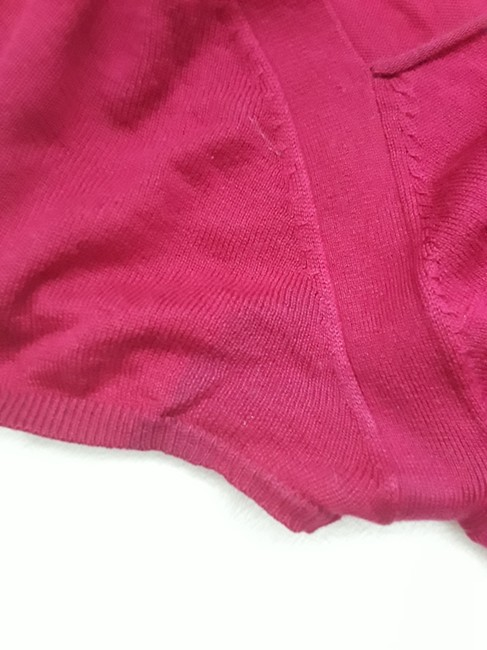 Elie Tahari Sweetheart Silk Ruched Sweater Image 4