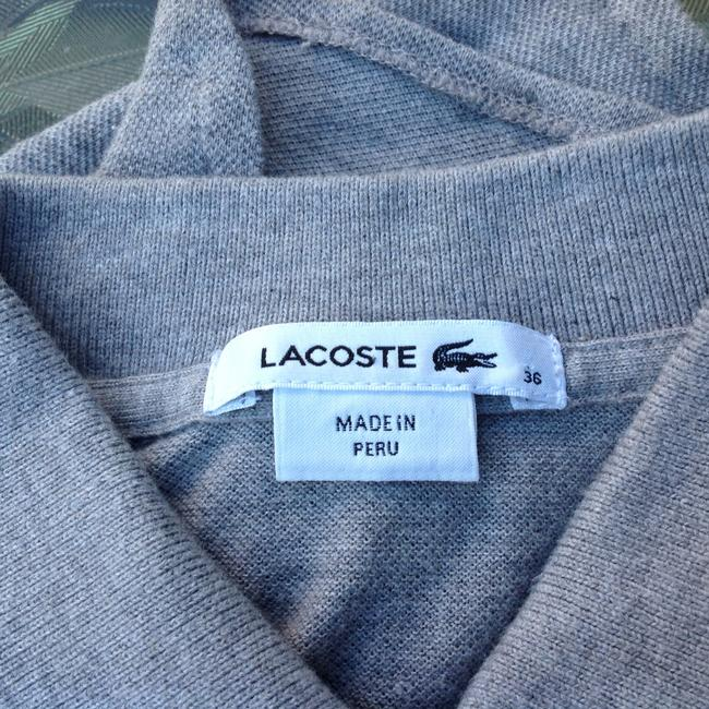 Lacoste Button Down Shirt grey Image 1