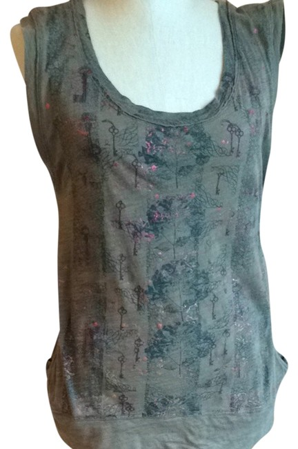 Free People T Shirt Green