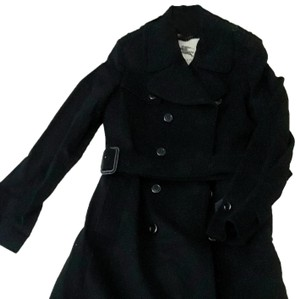 Burberry London Belted Cashmere Trench Coat
