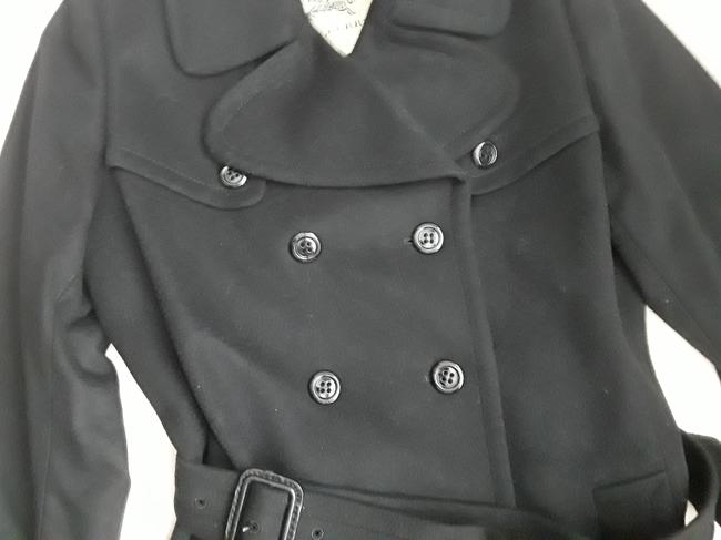 Burberry London Belted Cashmere Trench Coat Image 2