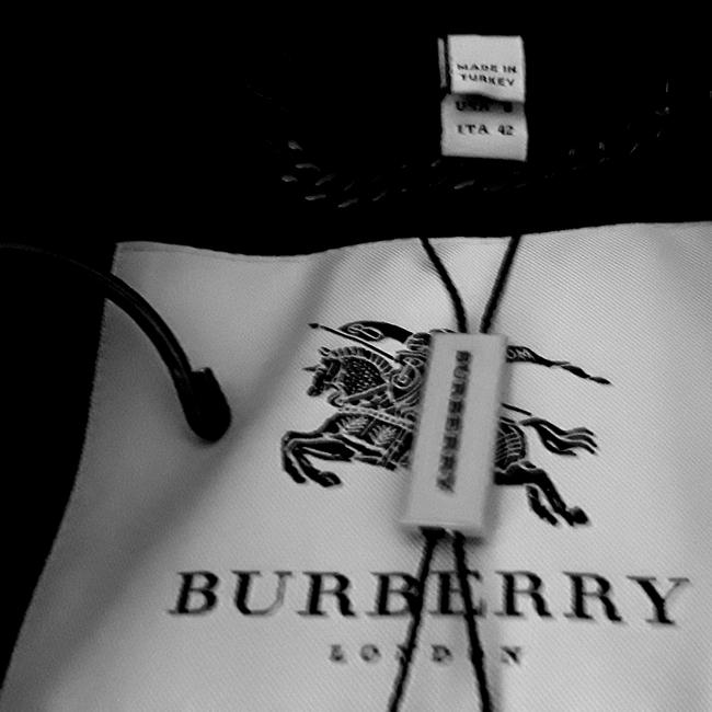 Burberry London Belted Cashmere Trench Coat Image 5