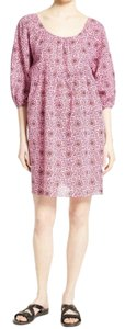APIECE APART short dress Pink on Tradesy