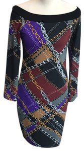Julian Chang short dress multi on Tradesy