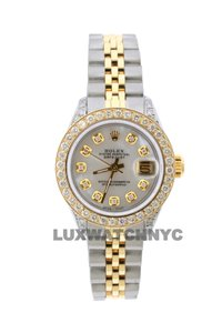 Rolex 1.8ct 26mm Datejust Gold Ss with Box & Appraisal Watch