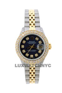 Rolex 1.8CT 26MM DATEJUST GOLD SS WITH BOX & APPRAISAL