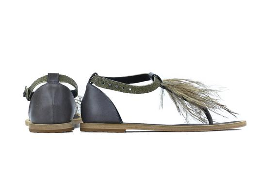 Brunello Cucinelli Brown Sandals Image 2