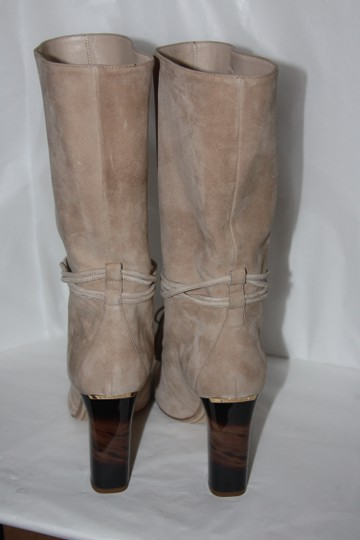 Burberry light nude Boots Image 1