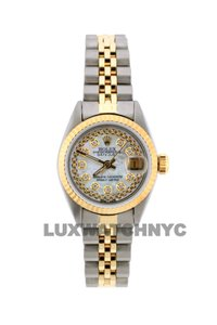 Rolex 26MM ROLEX DATEJUST GOLD S/S WITH BOX & APPRAISAL