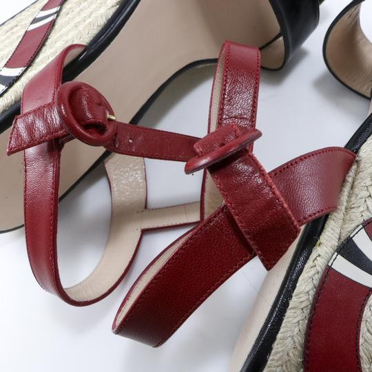 Gucci Espadrilles Snake Snake Red, Black, white Platforms Image 11