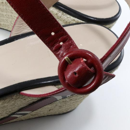 Gucci Espadrilles Snake Snake Red, Black, white Platforms Image 3