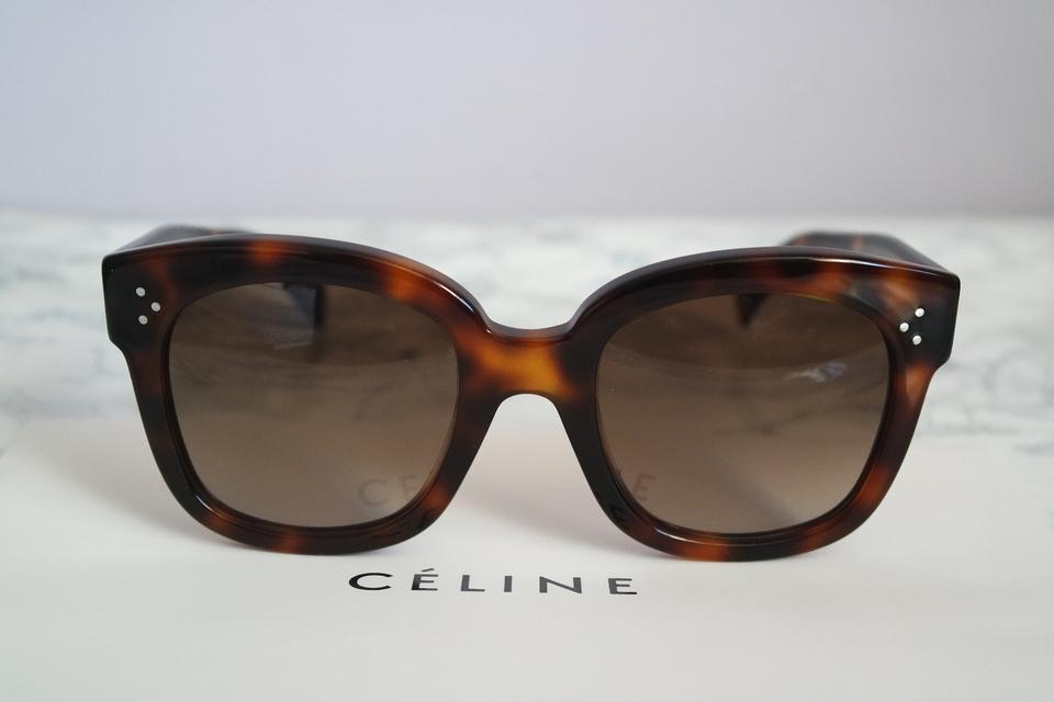 5b6cd17f33e Celine New Audrey Sunglasses Havana