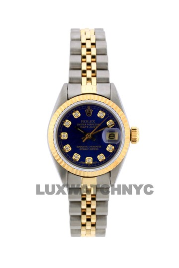 Rolex 26mm Datejust Gold S/S with Box & Appraisal Watch Image 0
