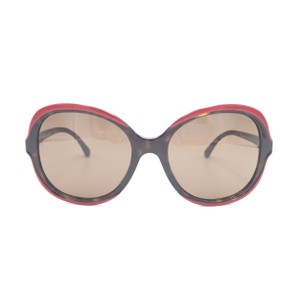 b9c972a1ba6 Chanel Dark Havana Brown Red Square Butterfly 5319 1518 S7 Sunglasses