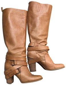 Nine West cognac brown Boots