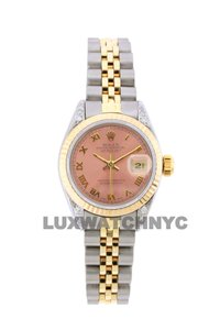 Rolex 26mm Datejust Gold S/S with Box & Appraisal Watch