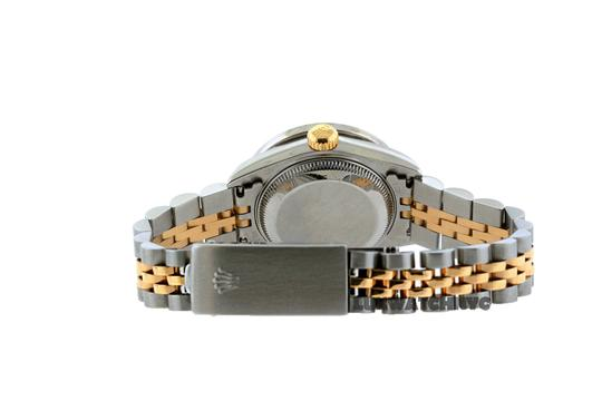 Rolex 1.8ct 26mm Ladies Datejust Gold S/S with Box & Appraisal Watch Image 3