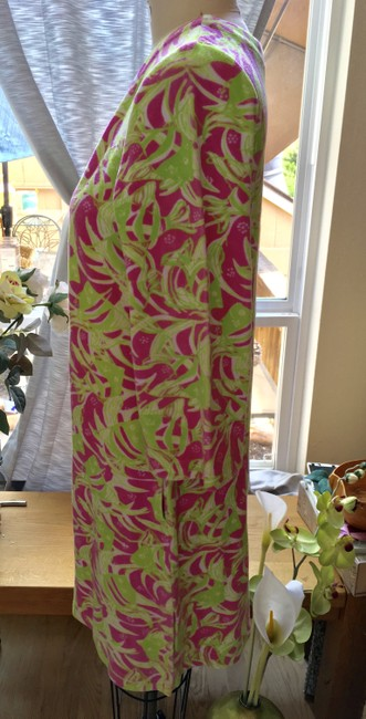 Lilly Pulitzer Lilly Pulitzer Terry Cattarina Cover-up Hibiscus Pink Image 1