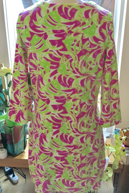 Lilly Pulitzer Lilly Pulitzer Terry Cattarina Cover-up Hibiscus Pink Image 2