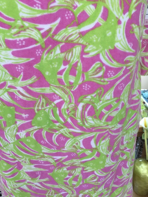 Lilly Pulitzer Lilly Pulitzer Terry Cattarina Cover-up Hibiscus Pink Image 6