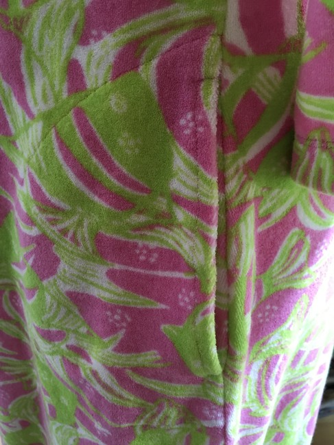 Lilly Pulitzer Lilly Pulitzer Terry Cattarina Cover-up Hibiscus Pink Image 8