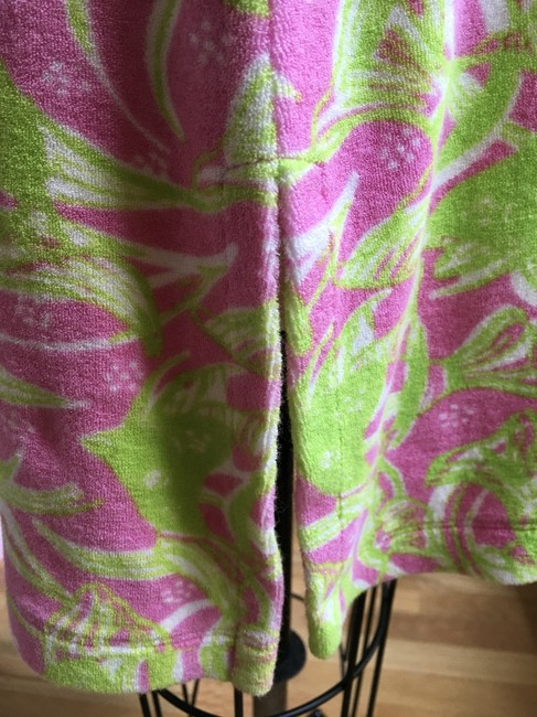 Lilly Pulitzer Lilly Pulitzer Terry Cattarina Cover-up Hibiscus Pink Image 9