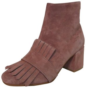 Steven by Steve Madden Leather Pink Boots