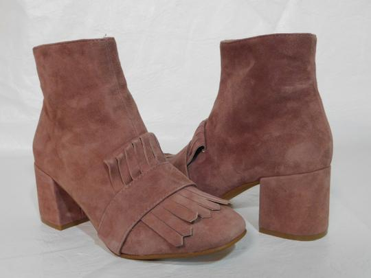 Steven by Steve Madden Leather Pink Boots Image 1