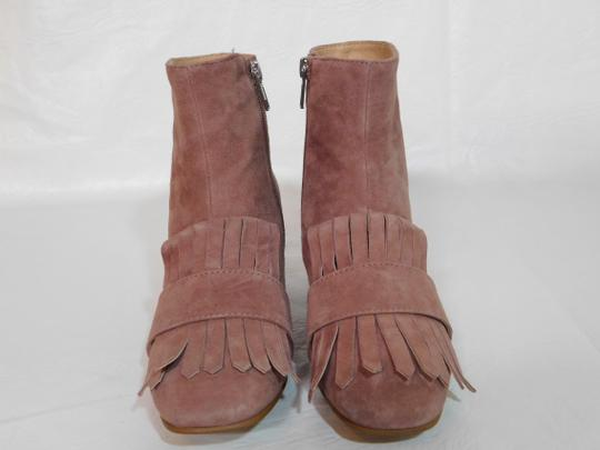 Steven by Steve Madden Leather Pink Boots Image 2