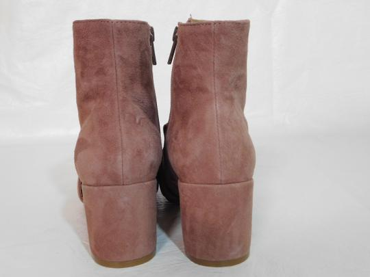 Steven by Steve Madden Leather Pink Boots Image 3