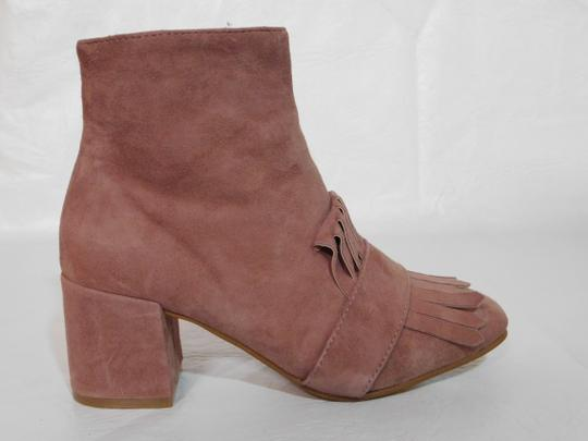 Steven by Steve Madden Leather Pink Boots Image 4