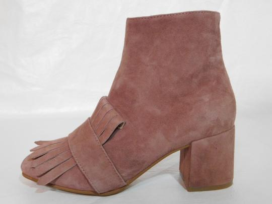 Steven by Steve Madden Leather Pink Boots Image 5