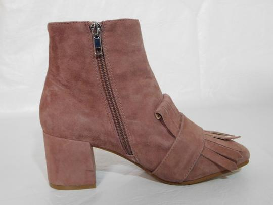 Steven by Steve Madden Leather Pink Boots Image 6