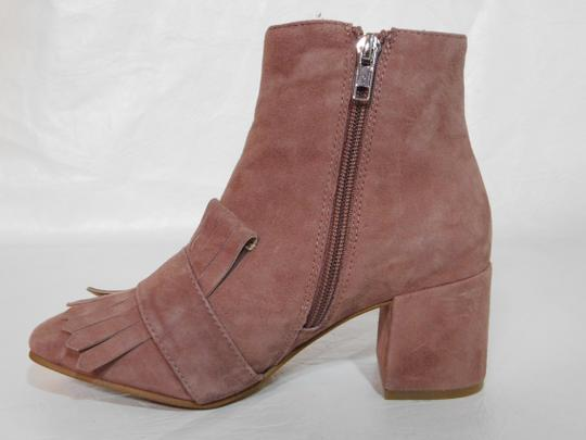 Steven by Steve Madden Leather Pink Boots Image 7