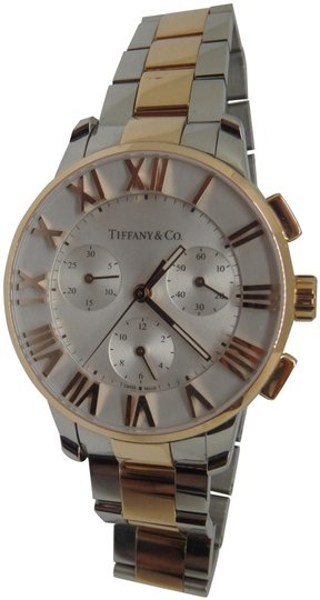 Preload https://img-static.tradesy.com/item/23628455/tiffany-and-co-stainless-steel-and-18k-rose-gold-375mm-atlas-chronograph-watch-0-2-540-540.jpg