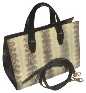 Alexander Wang Satchel in Black/Snakeskin