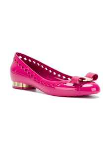 Salvatore Ferragamo Women Jelly pink Flats