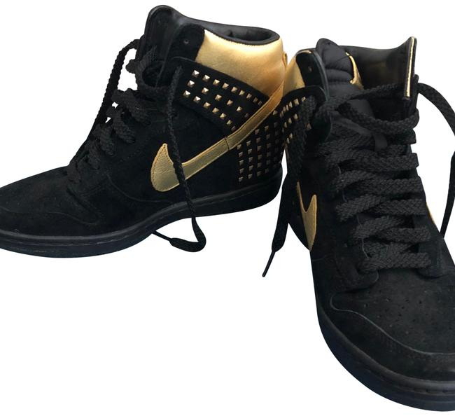 Item - Black and Gold. 104406338 Sneakers Size US 8 Regular (M, B)