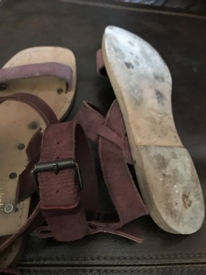 Free People Oxblood (dusty pink) Sandals Image 2